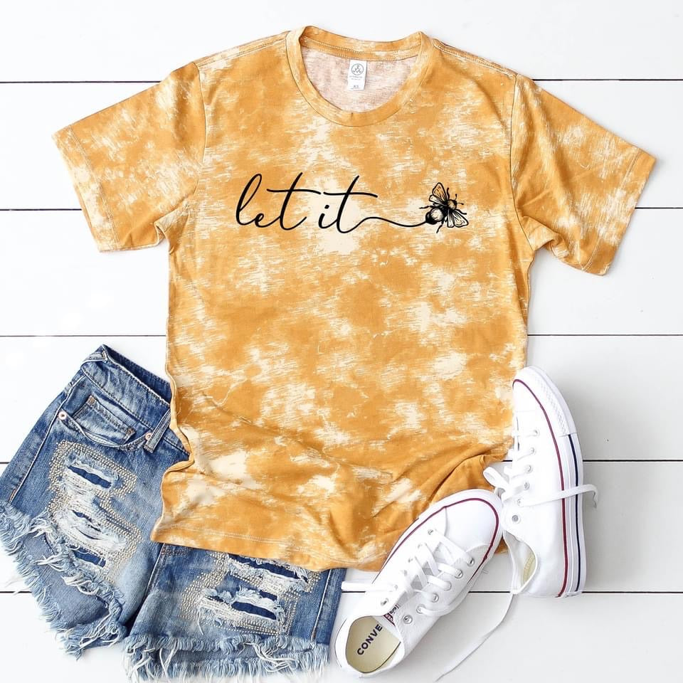 Let it bee Graphic tee