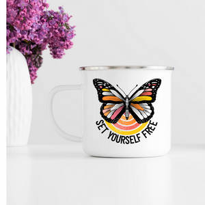 Set yourself free Campfire Mug