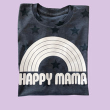 Load image into Gallery viewer, Happy Mama Star Print Graphic Tee