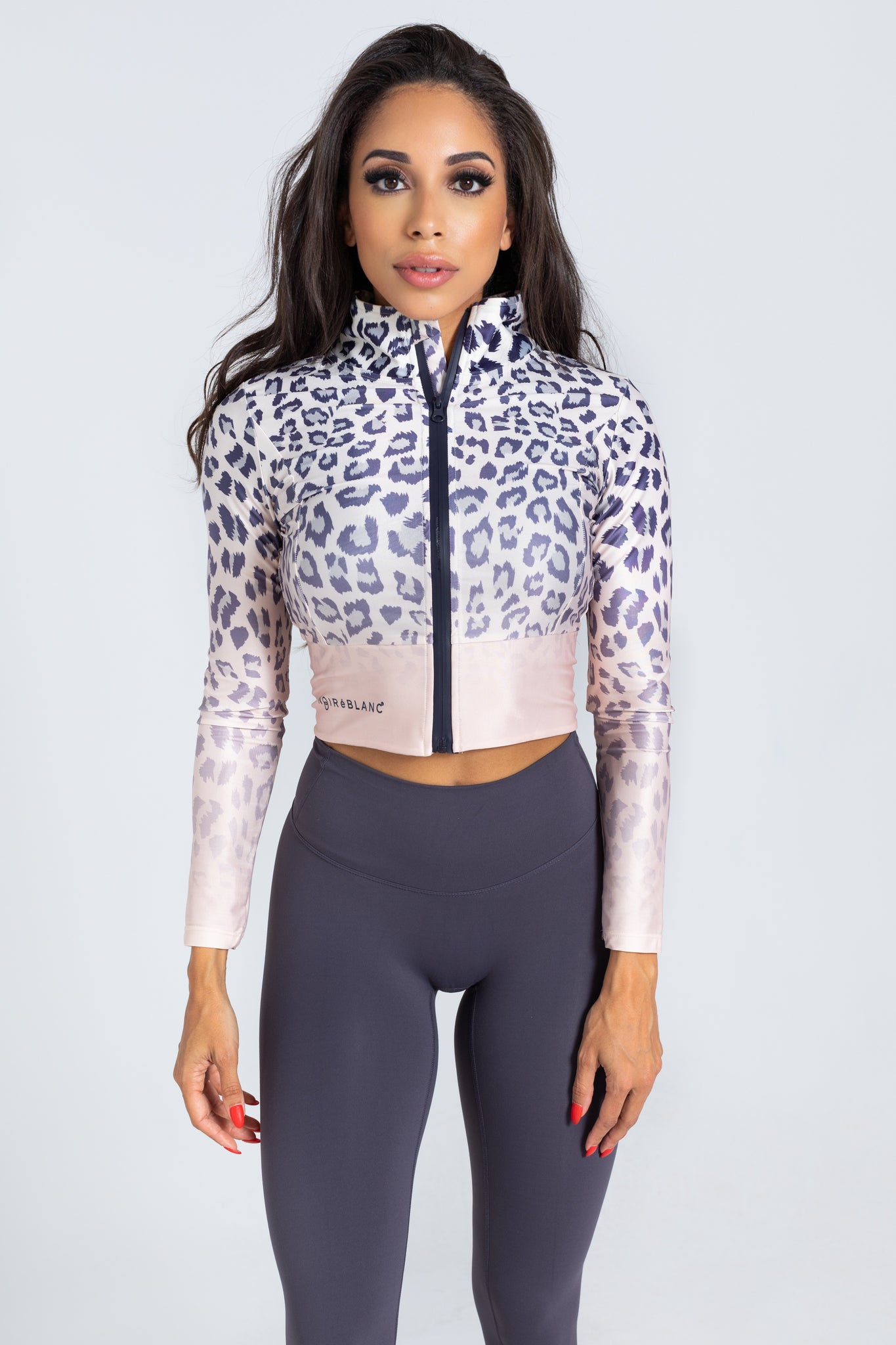 Leopard Gradient Jacket