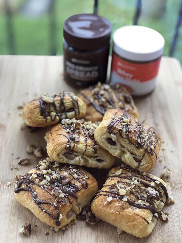 Pain au Chocolat - Protein Packed Pastries