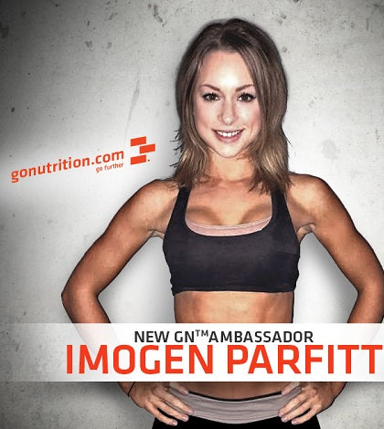 Interview: Imogen Parfitt - GoNutrition Ambassador|Imogen Parfitt - GoNutrition Ambassador|Imogen recently received her pro card...|Imogen finds GN Whey Isolate 90 great for building lean muscle|What will 2015 bring for Imogen? Stay tuned for the answer!