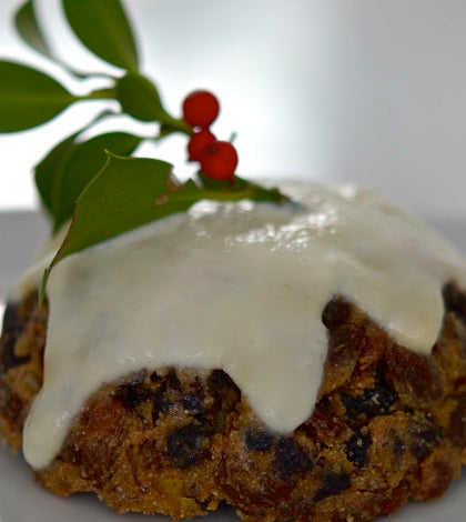 Protein Christmas Pudding|Protein Christmas Pudding - voila!