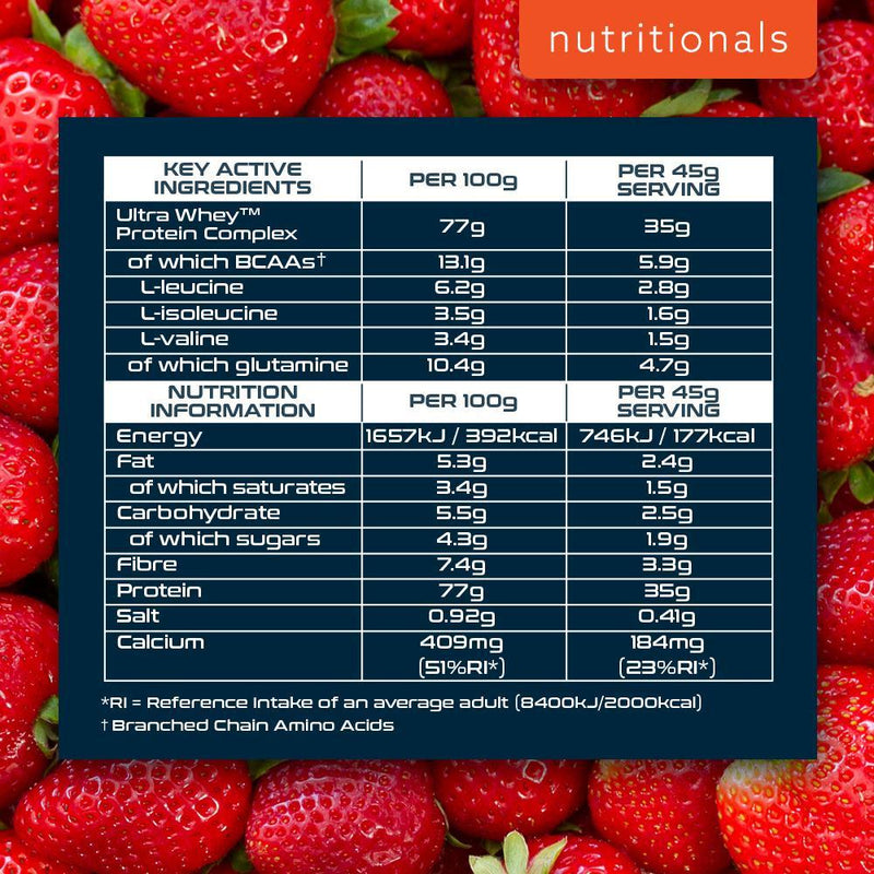 SCI-MX ULTRA WHEY PROTEIN 2.28KG STRAWBERRY Nutritionals
