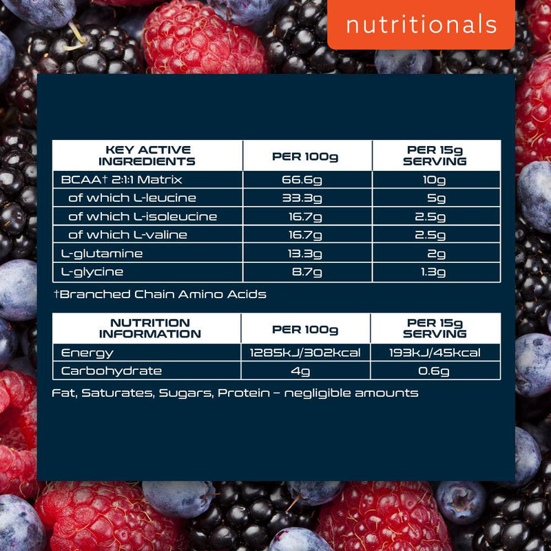 SCI-MX BCAA INTRA HARDCORE 480G MIXED BERRY Nutritionals