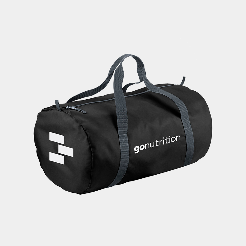 GoNutrition Barrel Gym Bag