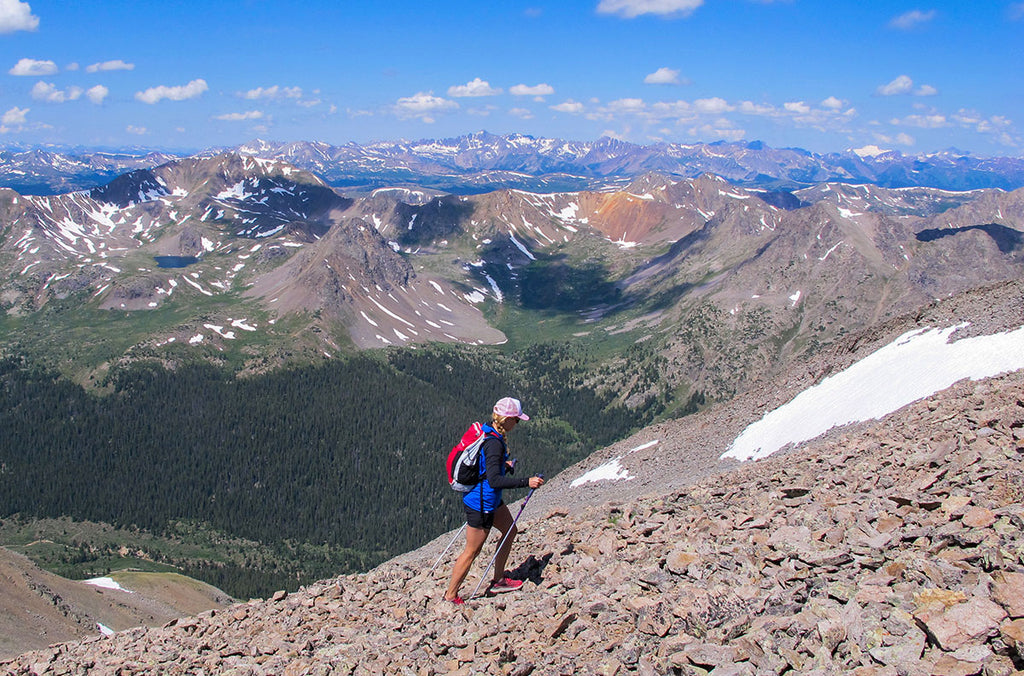 Climbing Grizzly Peak - Colorado's highest Centennial Mountain