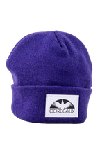 Wharf Beanie in color Barney purple