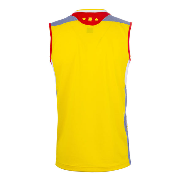 YONEX 10248EX Men's Sleeveless Top Light Yellow