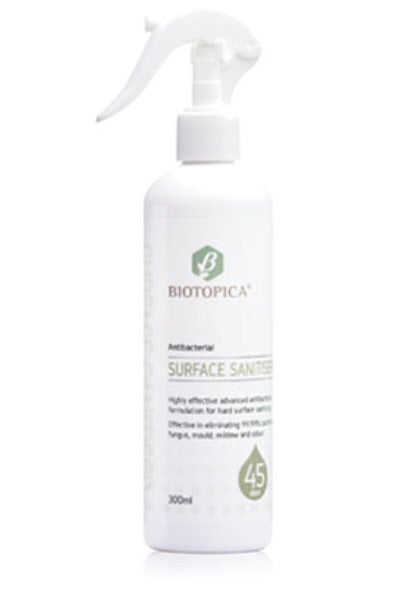 BIOTOPICA® ANTI-BACTERIAL 45 DAY 300ML SURFACE SANITISER