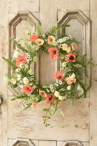 Summer Poppy Wreath
