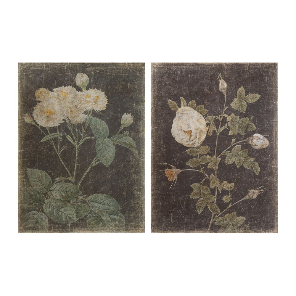Floral Paper Wall Tapestries