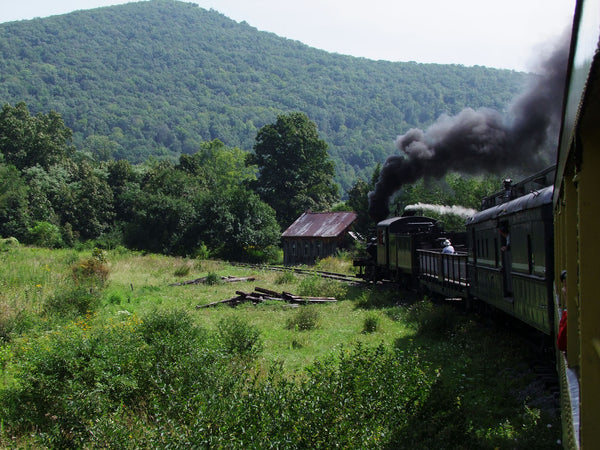 Travel back in time on the Durbin Rocket in West Virginia