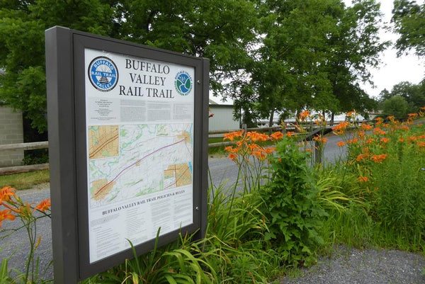 Buffalo Valley Rail Trail: 9 Miles of Pennsylvania Agricultural and Industrial History
