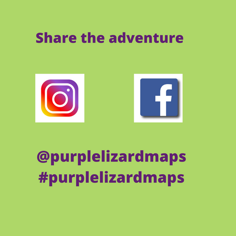 Connect with Purple Lizard Maps