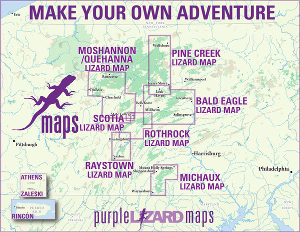 Purple Lizard Maps Locator