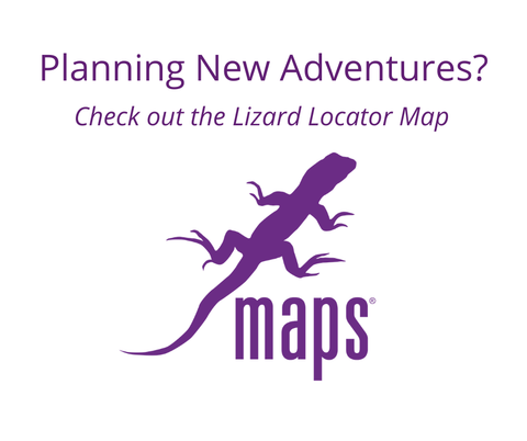 Planning New Adventures? Check out the Lizard Locator Map