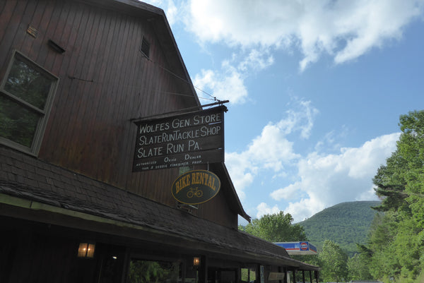 Wolf's General Store Pine Creek PA: Pine Creek Lizard Map dealer