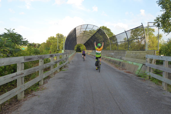 Pine Creek Rail Trail Pedestrian/Cycling Bridge