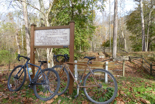 Historic Canal, Gravel Biking, Rails to Trails