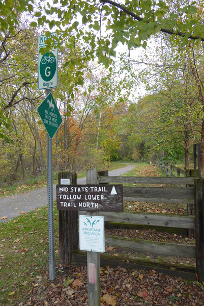Mid State Trail, Audobon Society Important Bird Area, Great Eastern Trail, PA Bike Route G, Equestrian