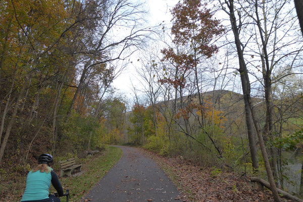 Paved rail trail