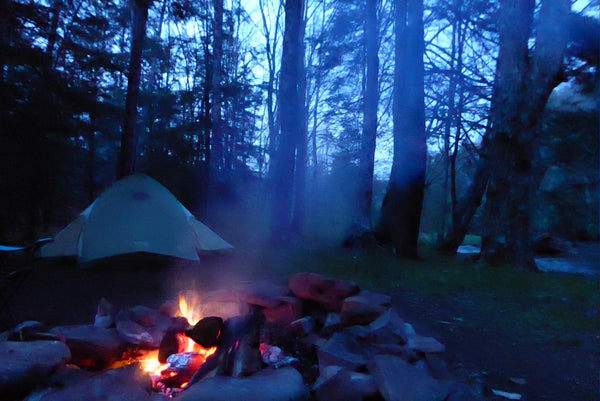 Camping Along Gandy Creek Monongahela National Forest WV