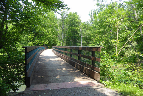 Penns Creek Bridge at Poe Paddy State Park Bald Eagle State Forest PA
