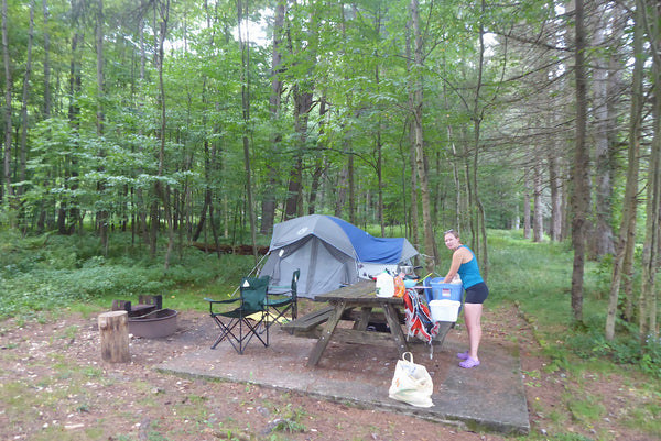 Car Camping Loyalsock State Forest