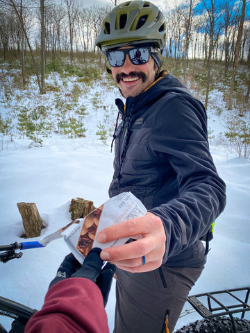Winter Snacks on the Trail