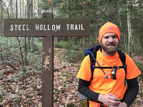 Steele Hollow Trail, West Rim Trail