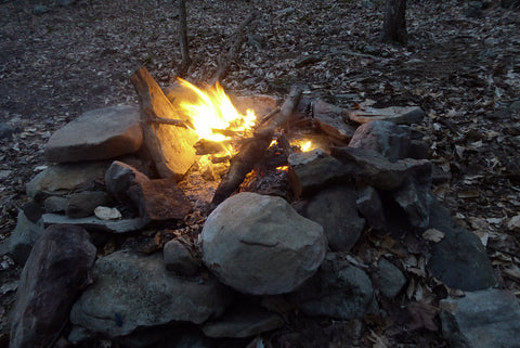 Campfire, West Rim Trail