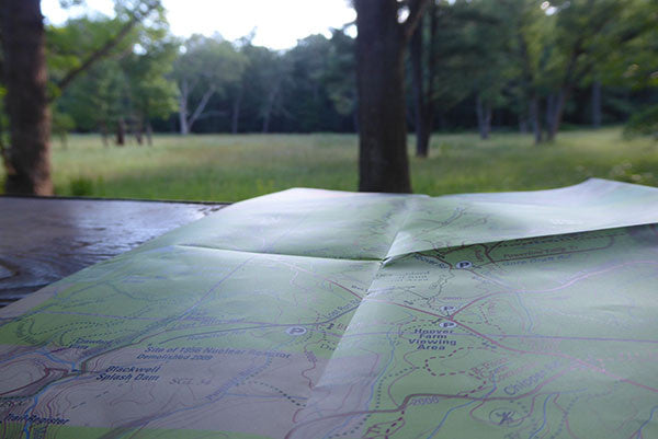 Hoover Farm View and Purple Lizard Quehanna Map