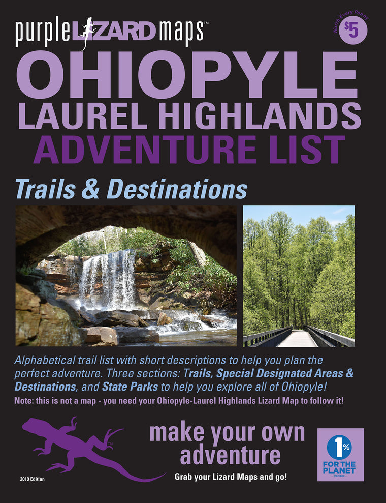 Ohiopyle - Laurel Highlands (PA) Adventure List