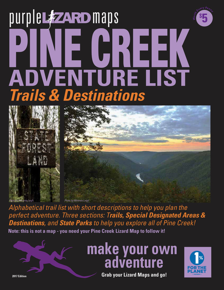Pine Creek (PA) Adventure List