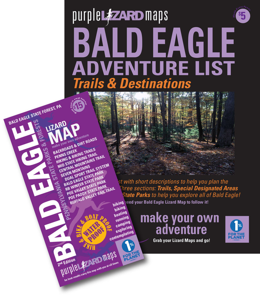 Bald Eagle State Forest (PA) Adventure List