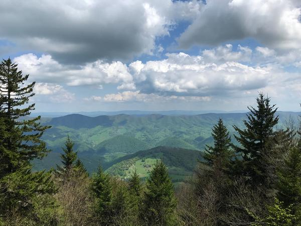 Dolly Sods - Seneca Rocks West Virginia View: Photo credit Purple Lizard Maps