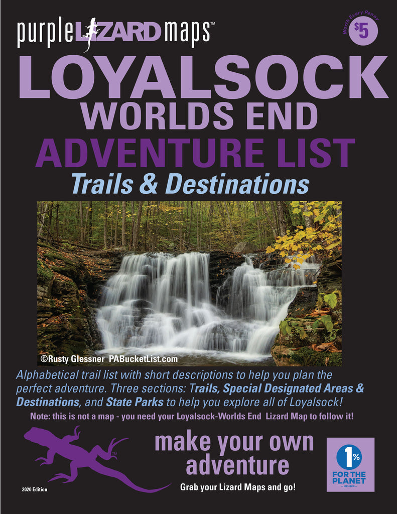 Loyalsock-Worlds End (PA) Adventure List