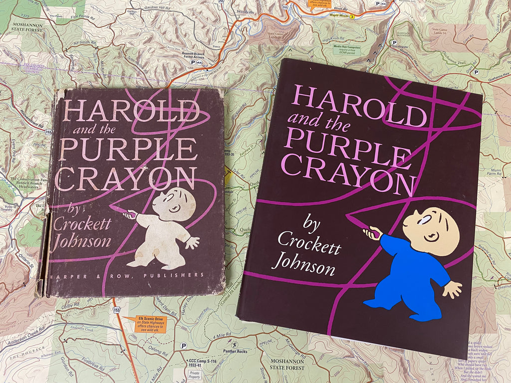 Harold and the Purple Crayon children's book