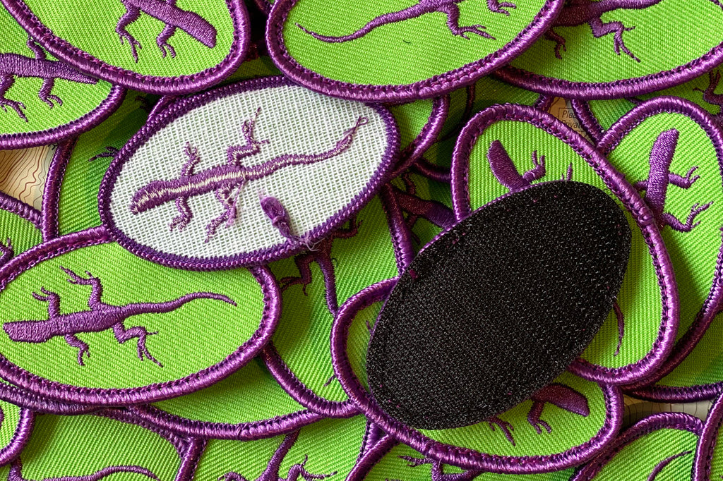 Purple Lizard Patches