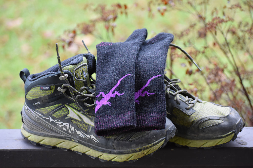 Lizard Woolie Boolie Socks by DeFeet