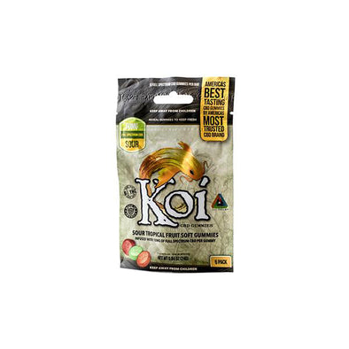 Koi CBD Tropical Fruit Gummies 6 Pack