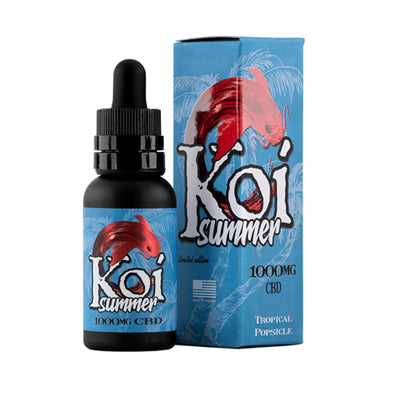 Koi Summer CBD Tropical Popsicle CBD Oil Tincture 30ML