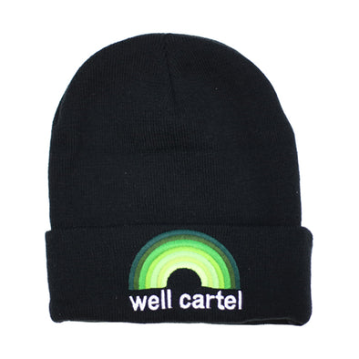 Well Cartel Beanies Rainbow Logo