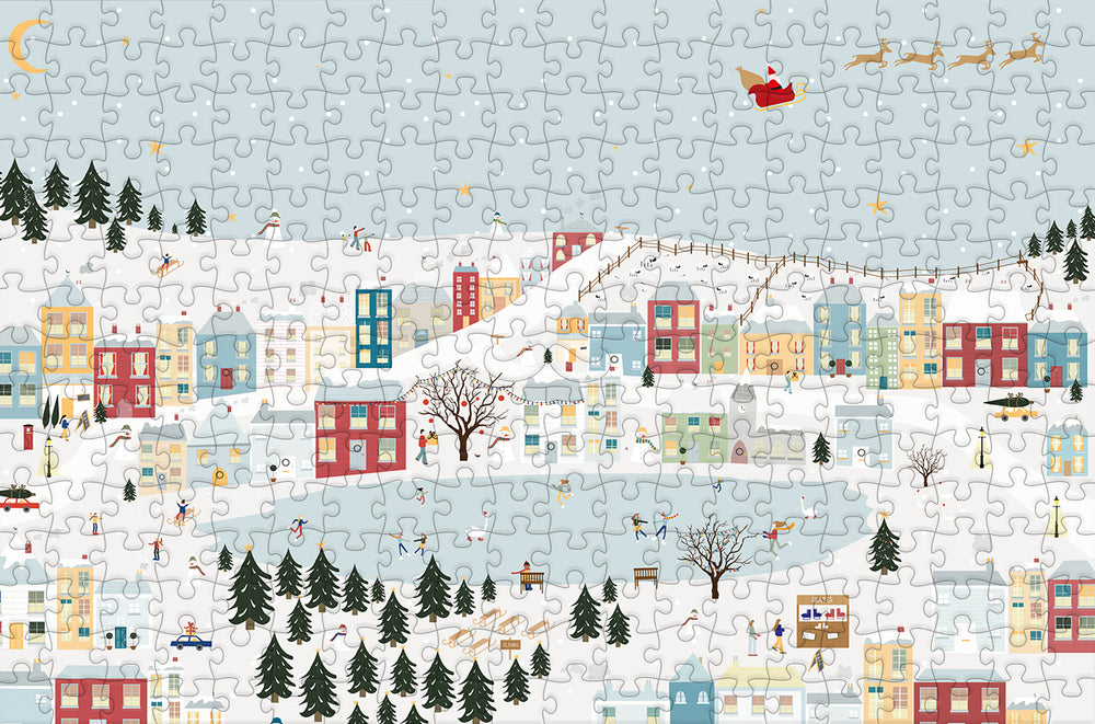 Christmas Memories 300 Piece Wooden Jigsaw Puzzle