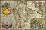 Connaugh 1610 Historical Map 300 Piece Wooden Jigsaw Puzzle