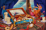 Inside the Jewellery Box 300 Piece Wooden Jigsaw Puzzle