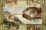Creation of Adam by Michelangelo 300 Piece Wooden Jigsaw Puzzle