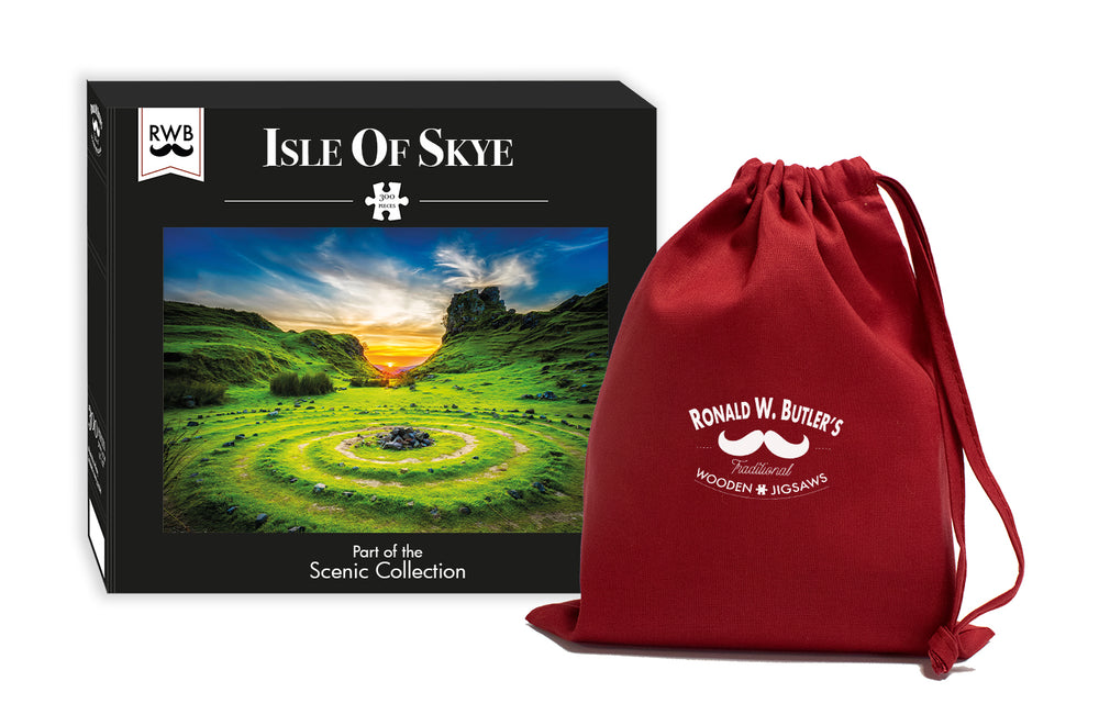 Isle of Skye - 300 Piece Wooden Jigsaw Puzzle