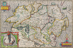 Ulster 1610 Historical Map 300 Piece Wooden Jigsaw Puzzle